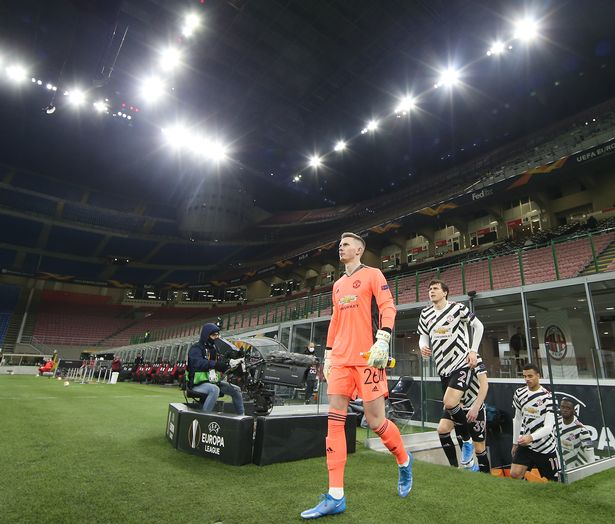 Henderson comes out in the San Siro