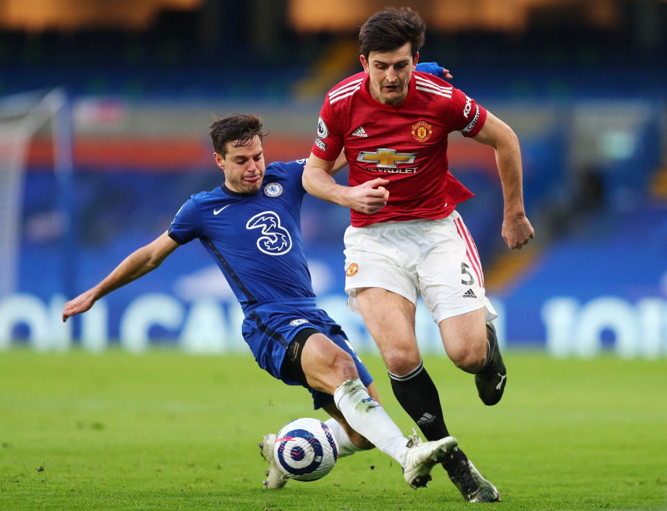 Maguire has seen some ups and downs this season but overall he's consistent with United