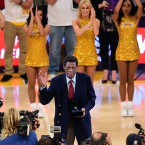 Baylor, legend of the Lakers died