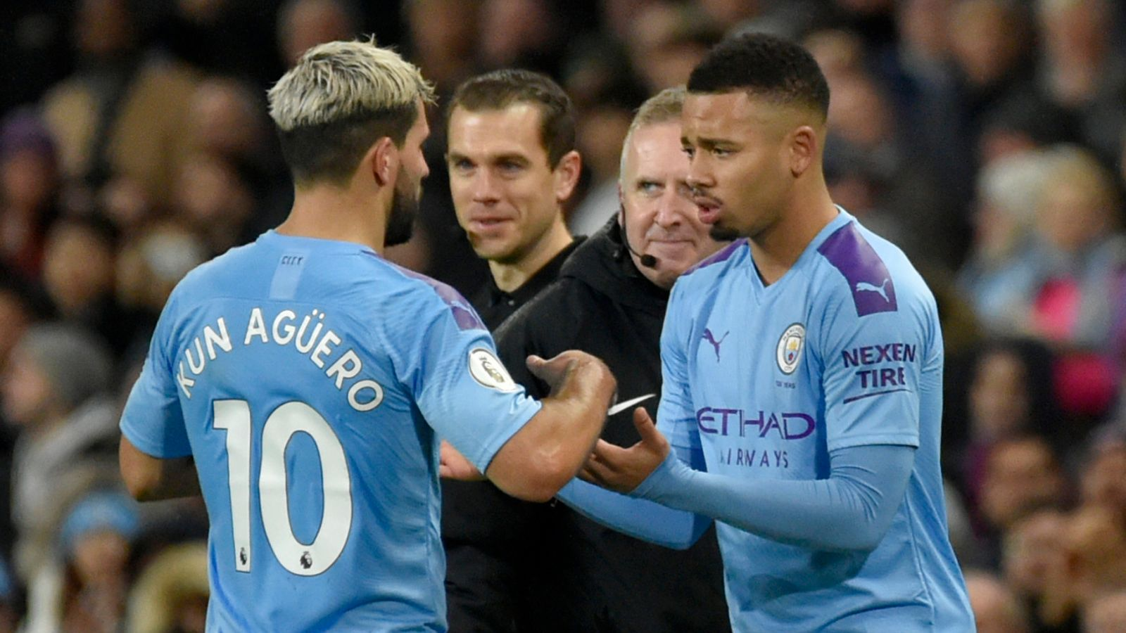 Gabriel Jesus: The Manchester City striker has learned to be like Sergio Aguero |  football news