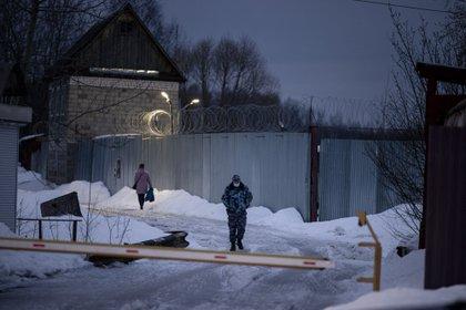 Pokrov Penalty Colony No. 2. (Demeter Tilkoff / AFP)
