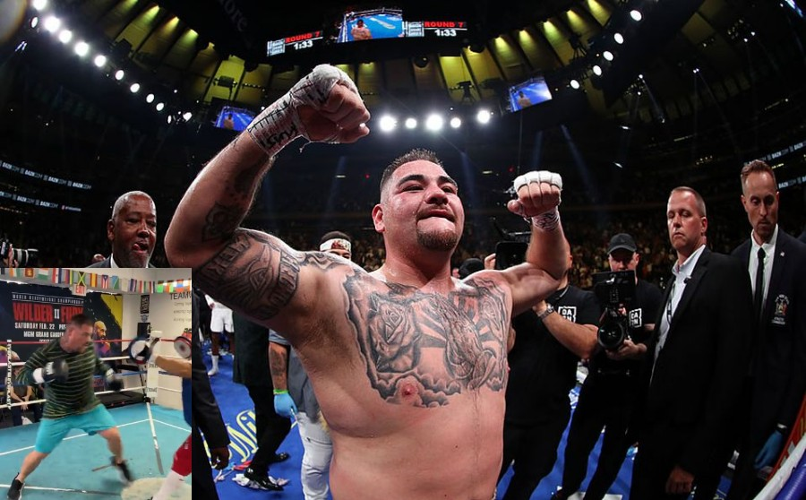 Andy Ruiz is proud of the speed and strength he gained with the Canelo team