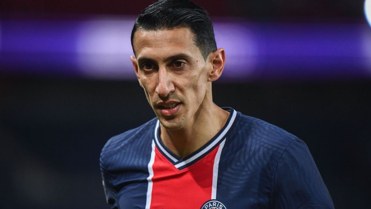 Angel Di Maria left court in Paris Saint-Germain when he found out about the theft of his family