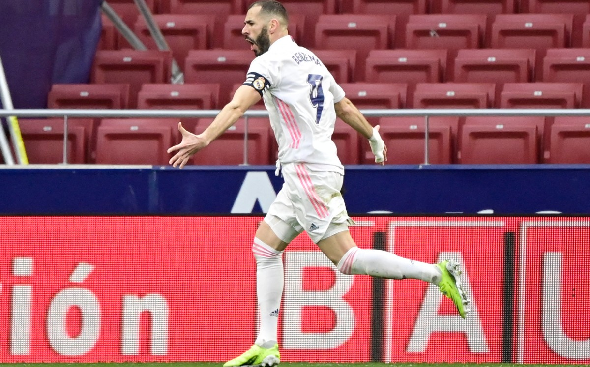 Atletico vs Real Madrid 1-1;  Benzema tightened the league with a tough balance