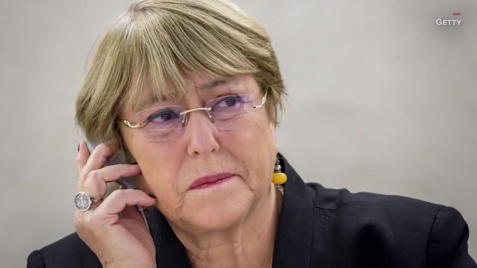 Bachelet, concerned about the shrinking of civilian space in Venezuela