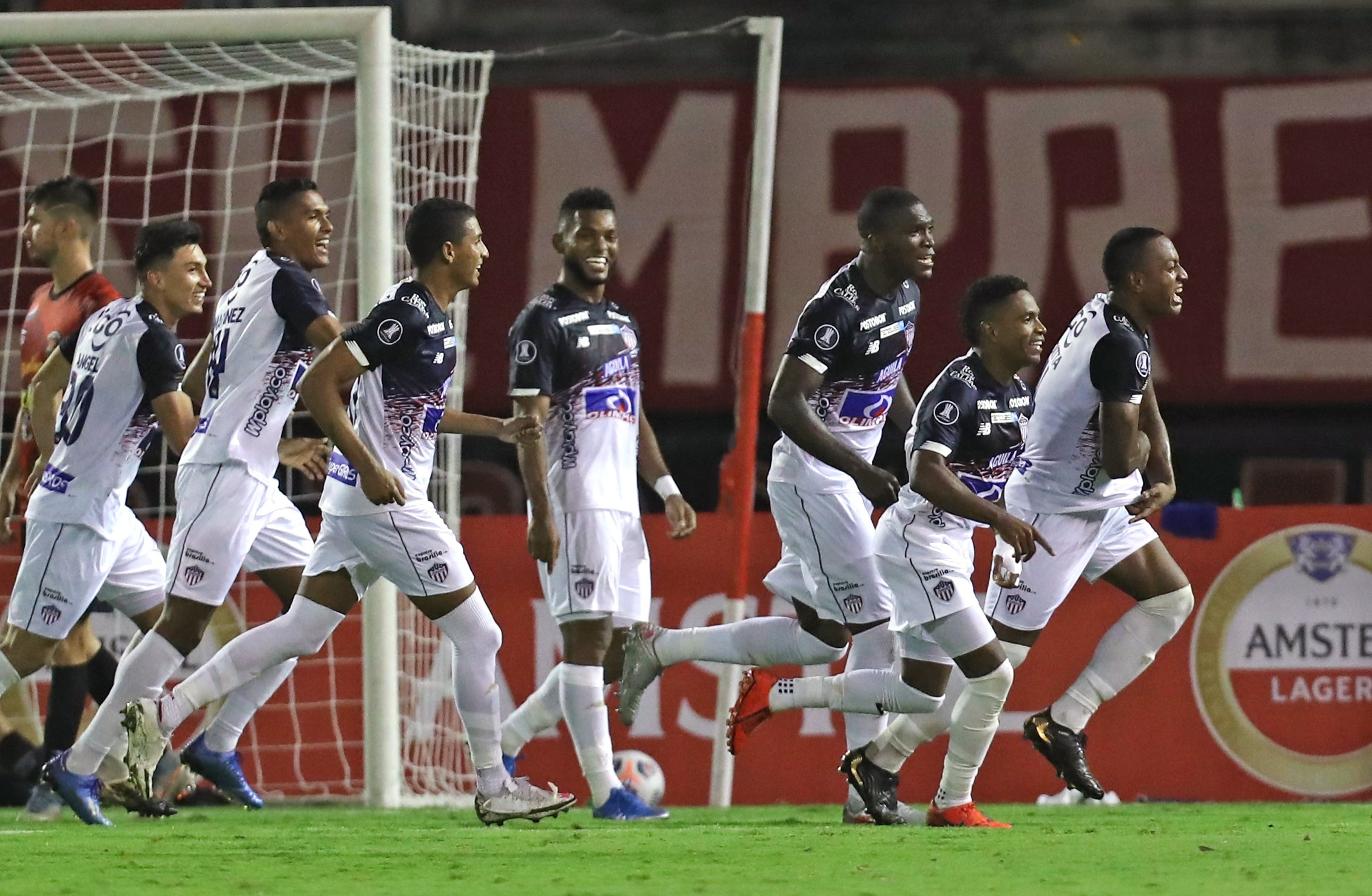 Caracas 1, Junior 2: The result is good