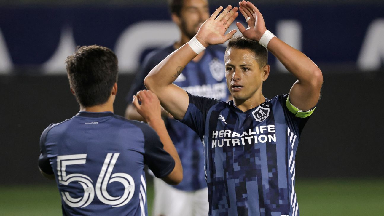 Chicharito Hernandez was the initiator and captain of the Los Angeles Galaxy win in the pre-season