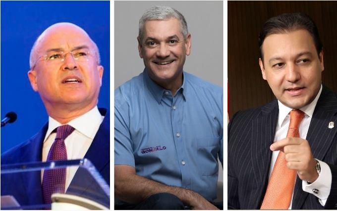 Do the three most voted in the PLD have presidential projects for 2024?