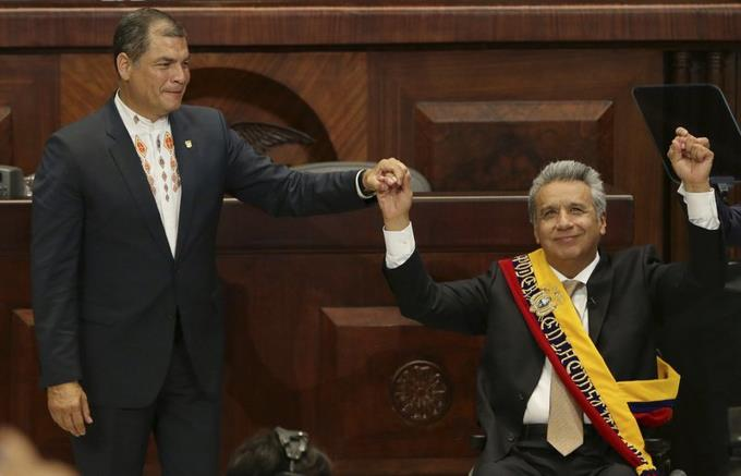 Ecuador: Ruling party ousts President Moreno