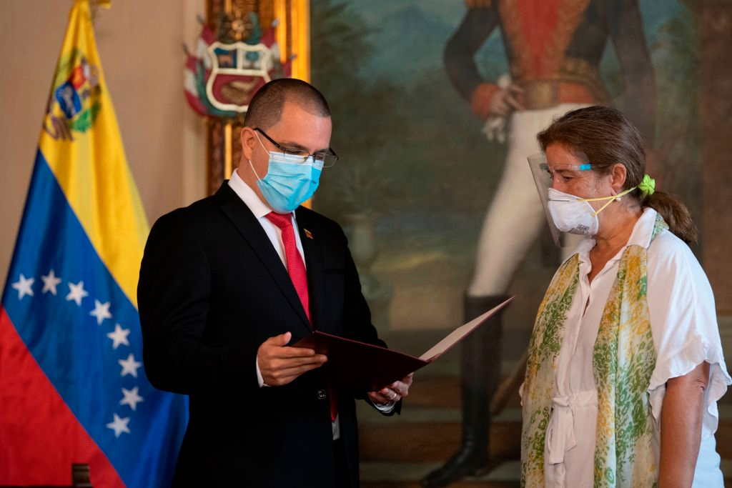European Union ambassador leaves Venezuela after being expelled