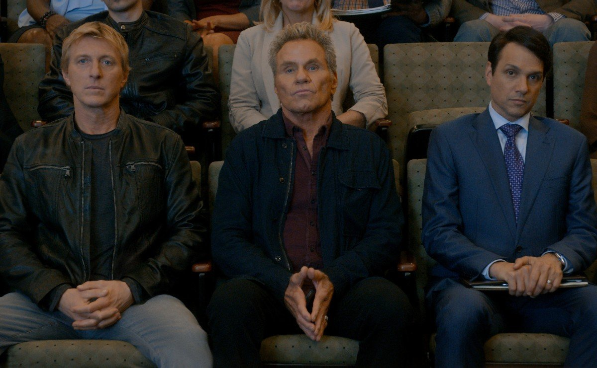 """Find out which """"Cobra Kai"""" actors are a father and son in real life"""