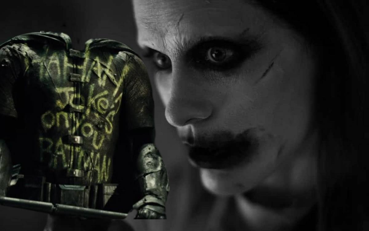 Joker kills Robin;  Scene not included in Justice League
