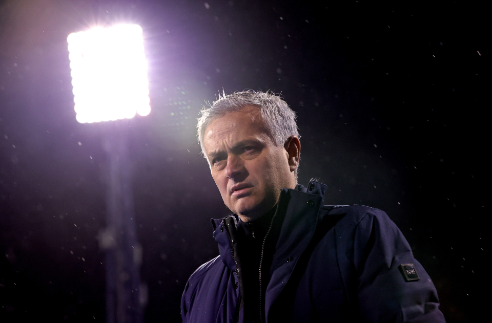 Mourinho will come under pressure after Tottenham's defeat in Europe
