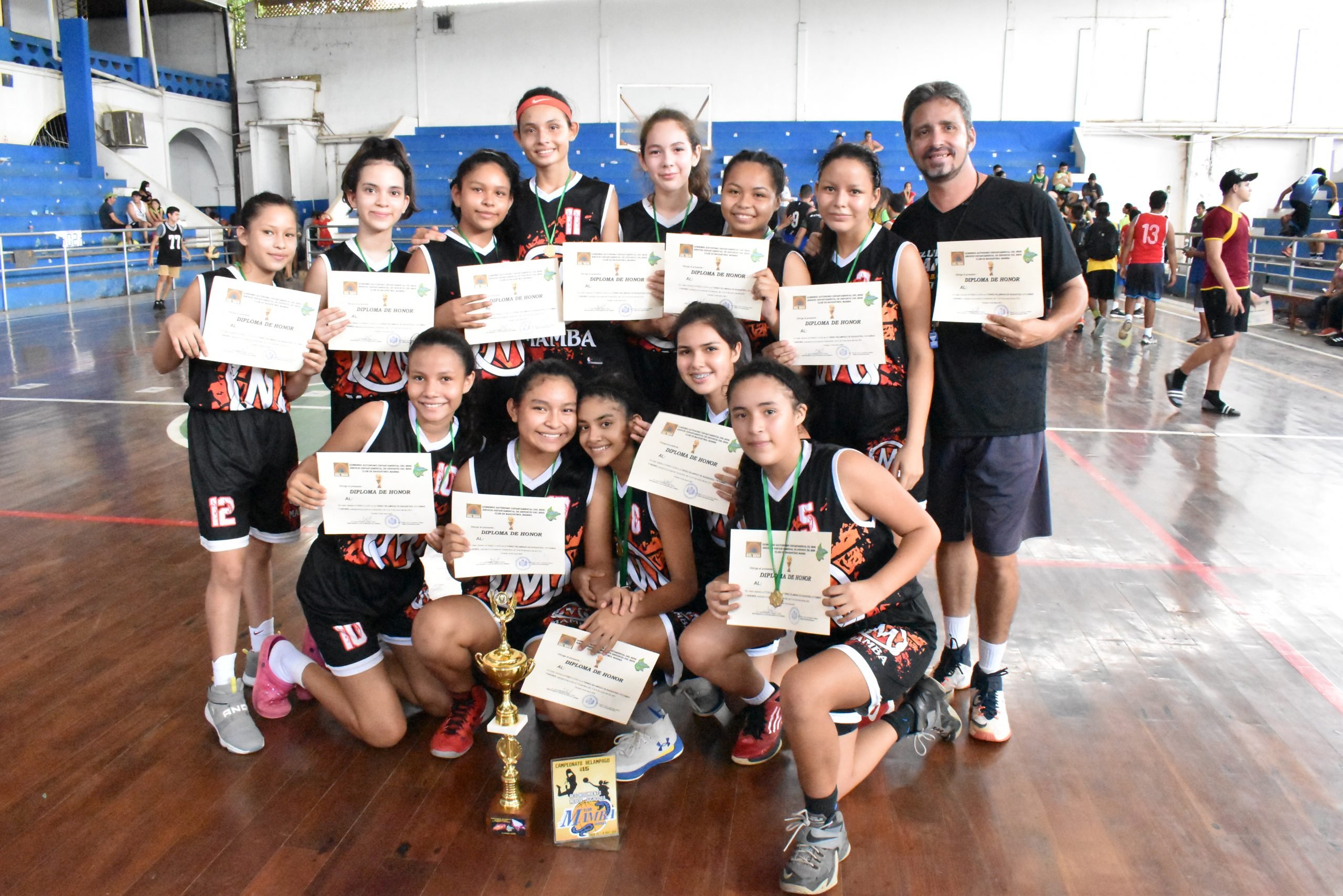 Mamba and A-Millionaires win the U-15 basketball title