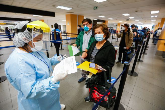 People arriving in Colombia should still have to take the PCR test