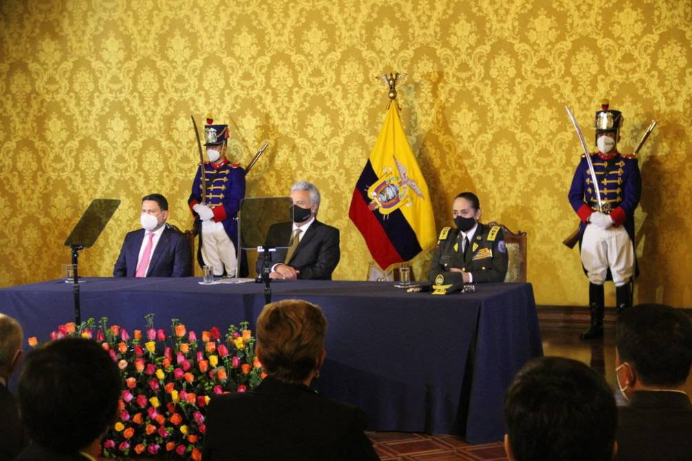 President Lenin Moreno appointed Tania Varela as Commander-in-Chief of the National Police;  They reject the request of the Board of Grievances |  Ecuador |  News