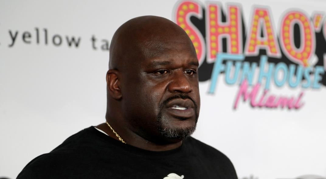 Shaquille O'Neal, an NBA star who debuted in wrestling and ended up hitting
