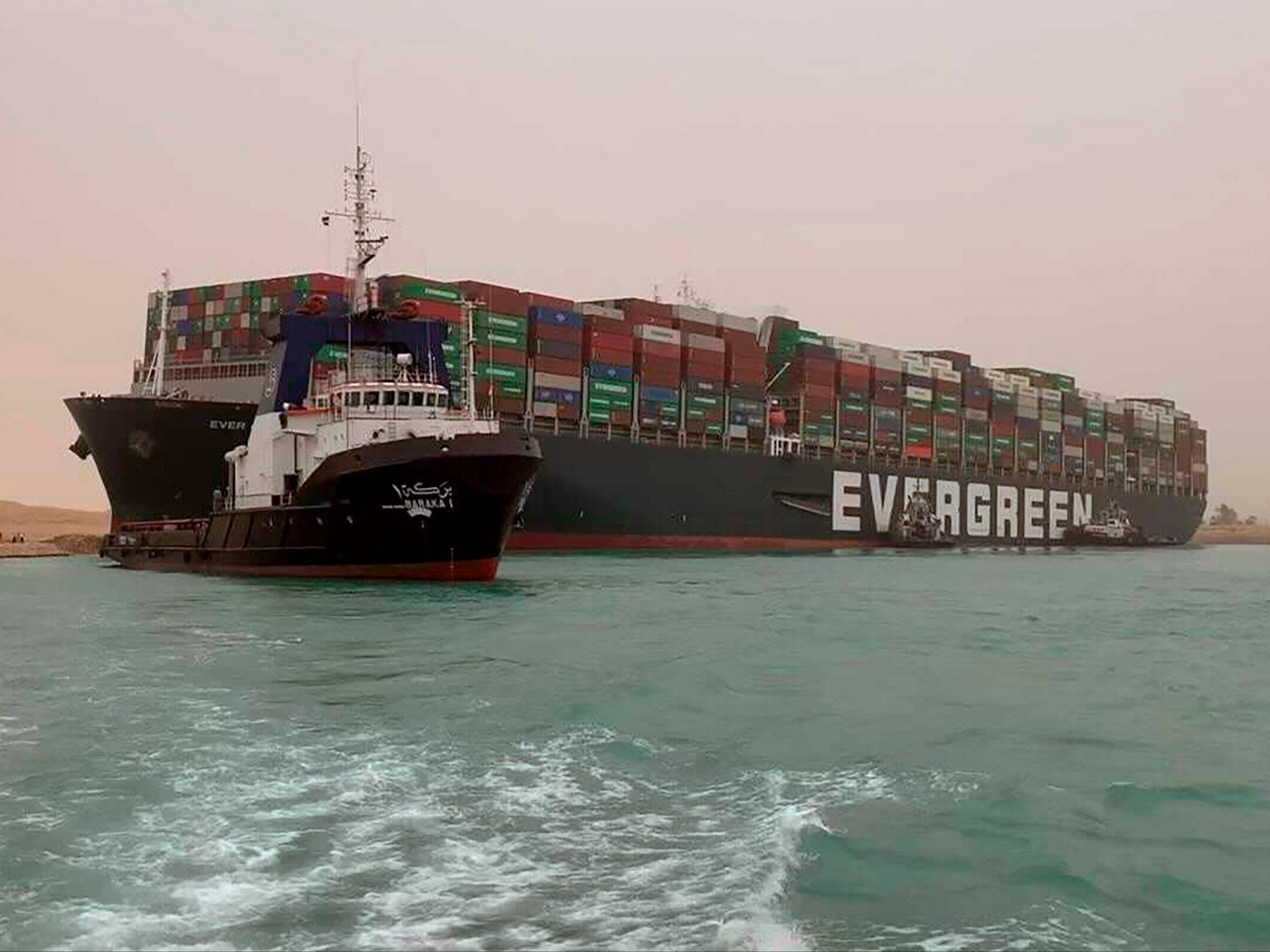 Suez Canal news live: The latest news as the Everglades closed a shipping lane