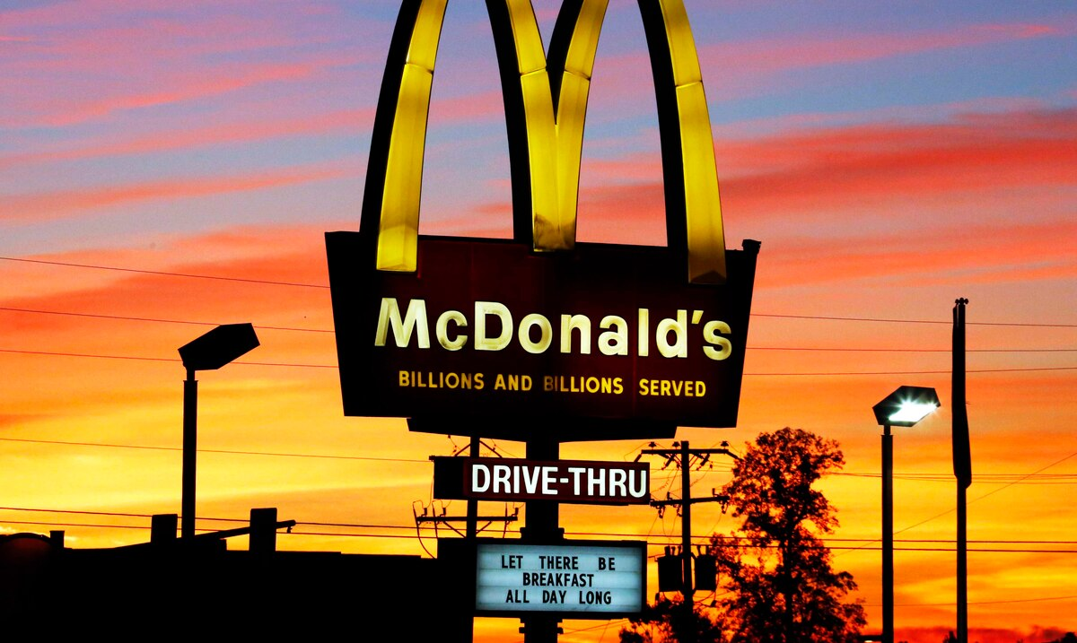 The McDonald's employee is 100 years old and still not considering retirement