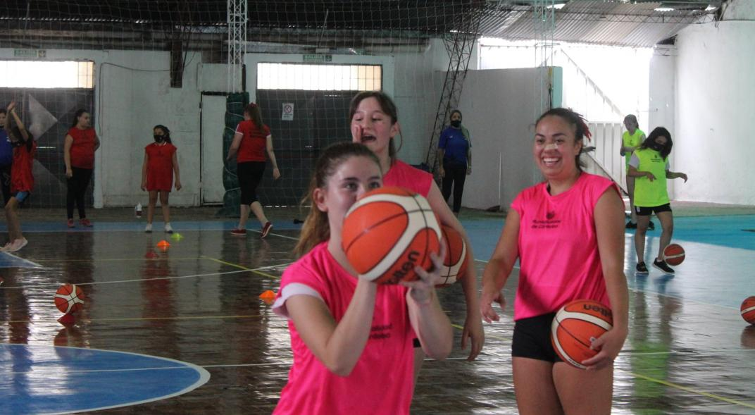 The expected recovery of women's basketball in Cordoba is getting stronger