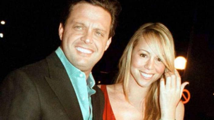 They filtered the Lewis Miguel series photos with scenes from his story with Mariah Carey