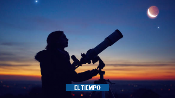 Tonight the conjunction of the moon, mars, and the star of Aldebran – science – life