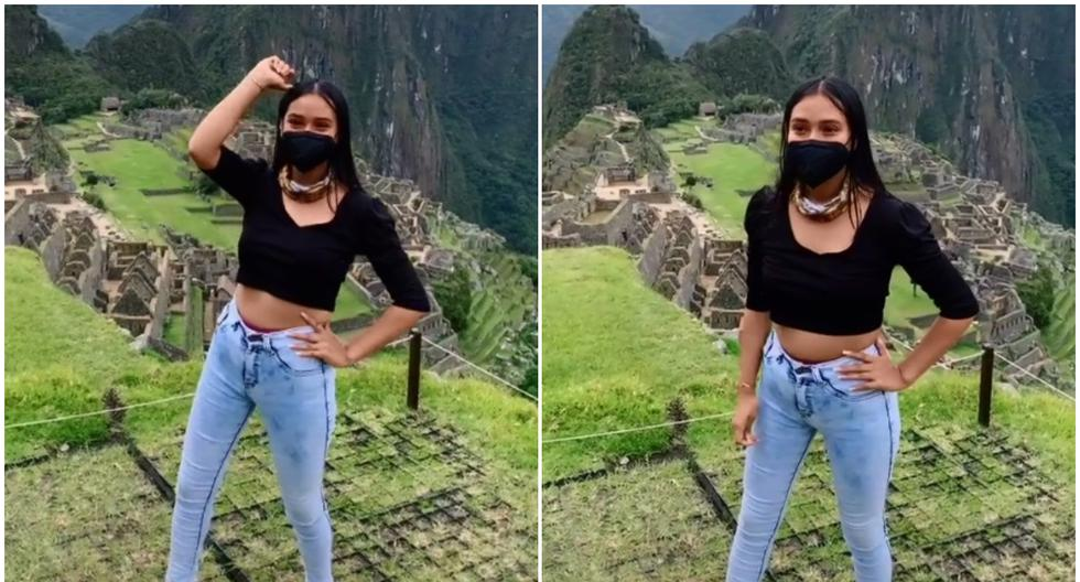 Viral video |  He traveled to Machu Picchu to record a Tik Tok video, and the security of the Inca Castle did not allow it. |  Ruth Mervo |  Directions |  Social networks  Peru |  Widely