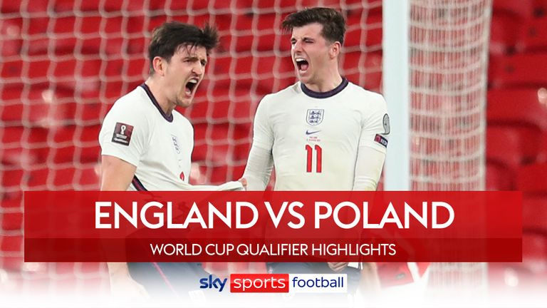 The thumbnail of the England match against Poland