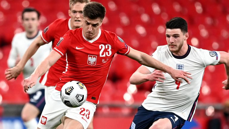 Declan Rice impressed Poland