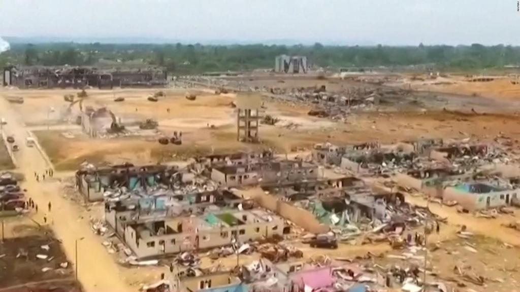 Explosions in Equatorial Guinea: Drones reveal massive damage