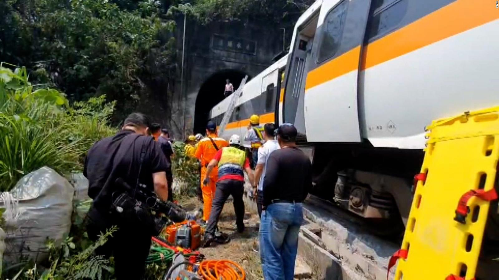 Train Accident in Taiwan: It could be caused by a car |  Video
