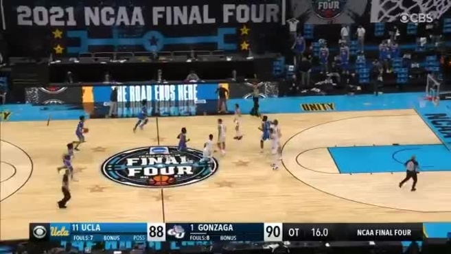 2021 NCAA Final Four: Thirty-one second feet … and Jalen Suggs unleash a rave in NCAA's craziest final