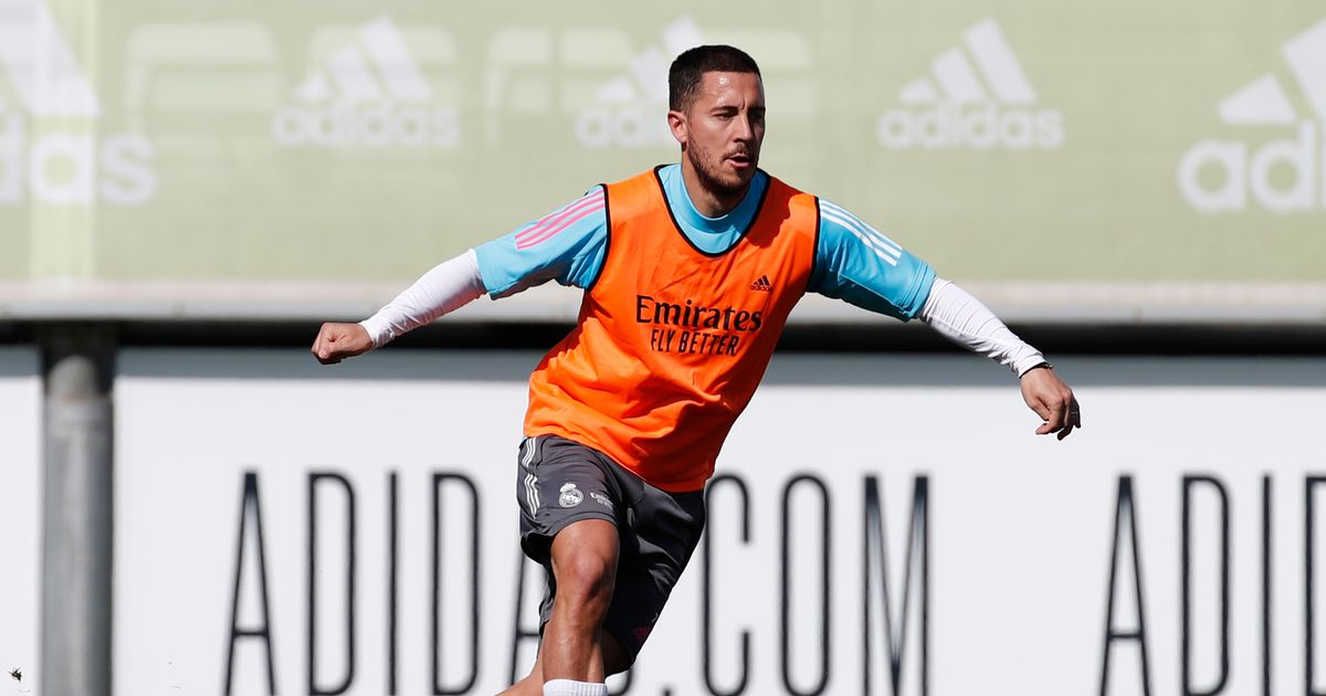 Real Madrid announced the announcement of Eden Hazard with the training of the former Chelsea star before facing Liverpool