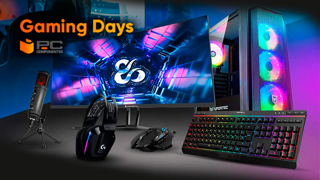 Build your ultimate gaming space with PcComponentes Gaming Days