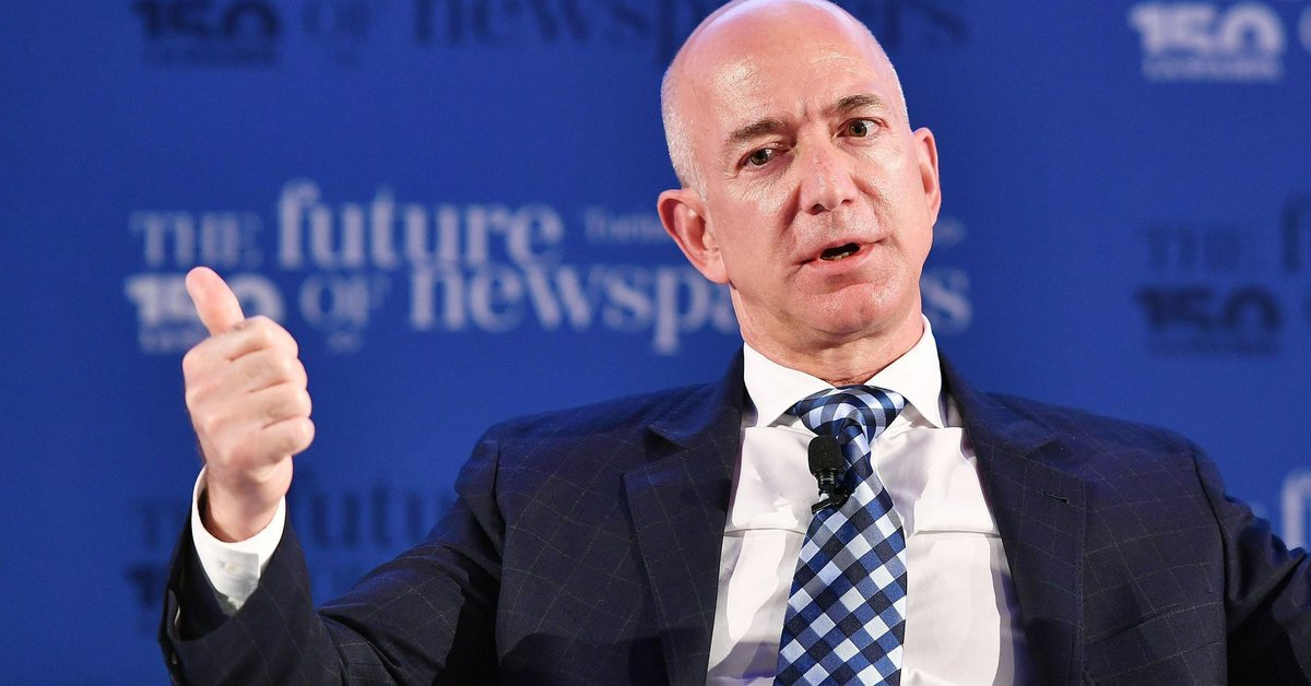 Jeff Bezos supported Joe Biden's proposal to raise corporate taxes in the United States