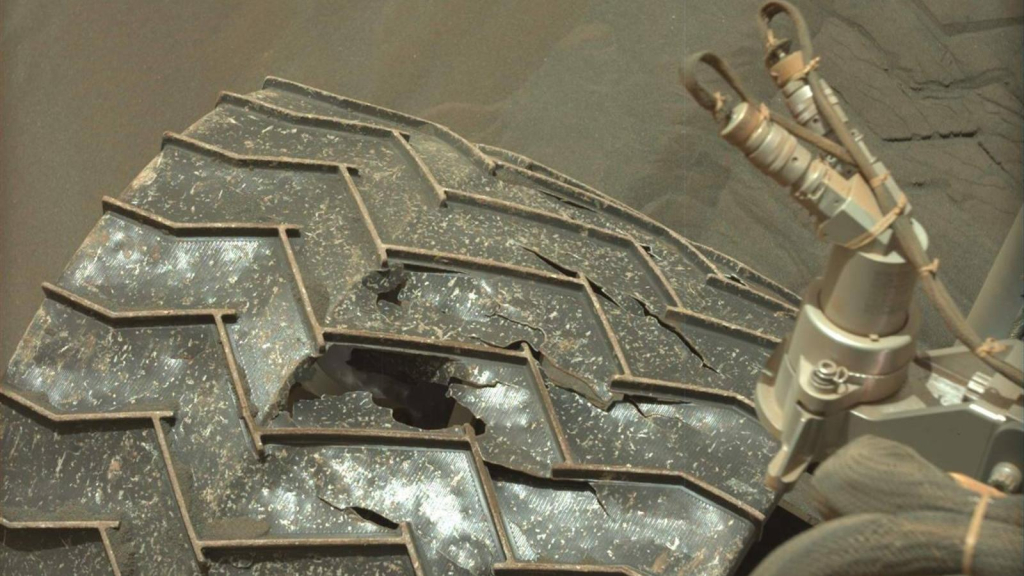 Plastic headbands on Mars rovers?