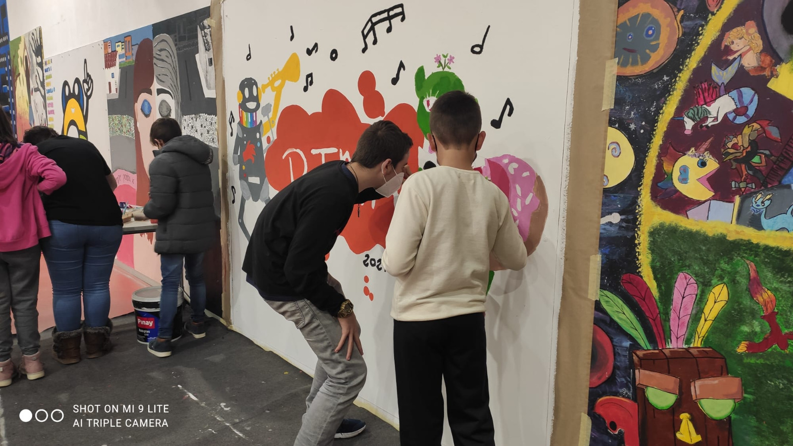 The Young Space is back full of action with Rima and Stop Motion entertainment programs