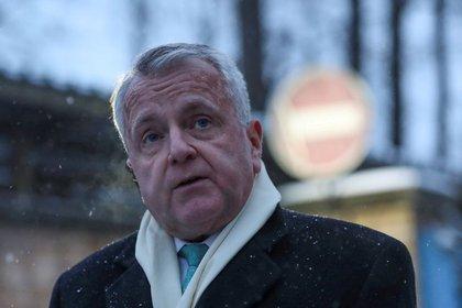 File photo: US Ambassador to Russia John Sullivan speaks to reporters in Moscow, Russia on January 30, 2020.  REUTERS / Evgenia Novozhenina