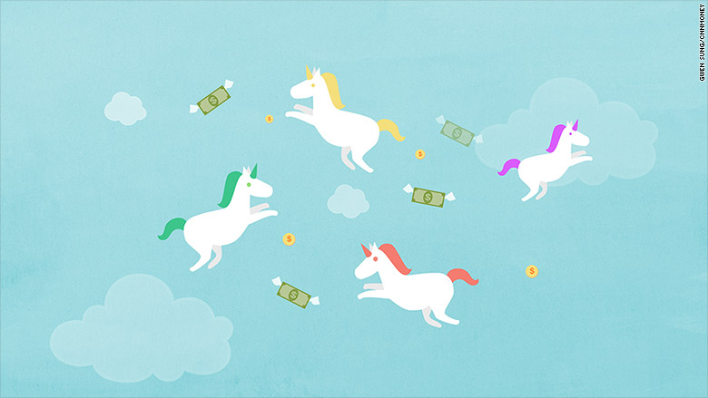 What are unicorn companies?