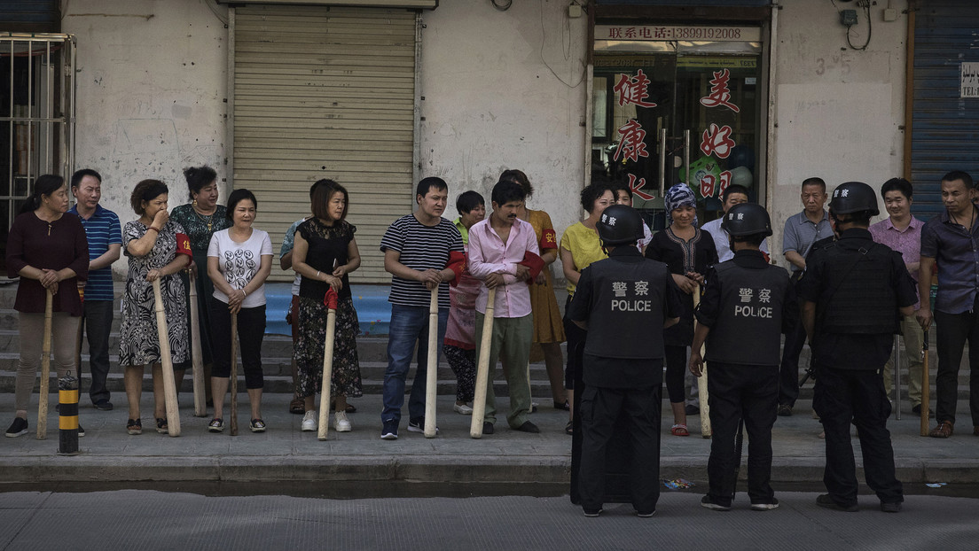 The United States, Canada, the United Kingdom, and the European Union impose sanctions against Chinese citizens in connection with alleged human rights violations of the population