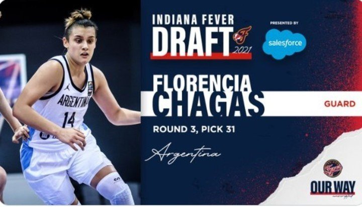 Florencia Chagas when announced in the draft.