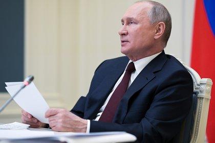 Russian President Vladimir Putin.  Sputnik / Alexey Druzhinin / The Kremlin via Reuters
