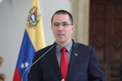 Pictured is Venezuela's Foreign Minister Jorge Ariza.  EFE / Raul Martinez / Archive