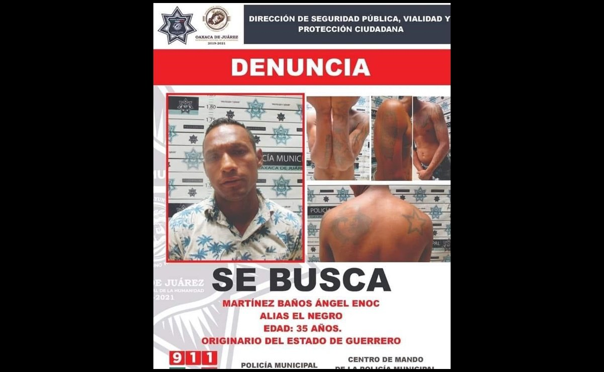 A dealer beats an inspector of the municipality of Oaxaca de Juarez to death