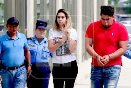 A former Honduran queen was sentenced to six years in prison for money laundering