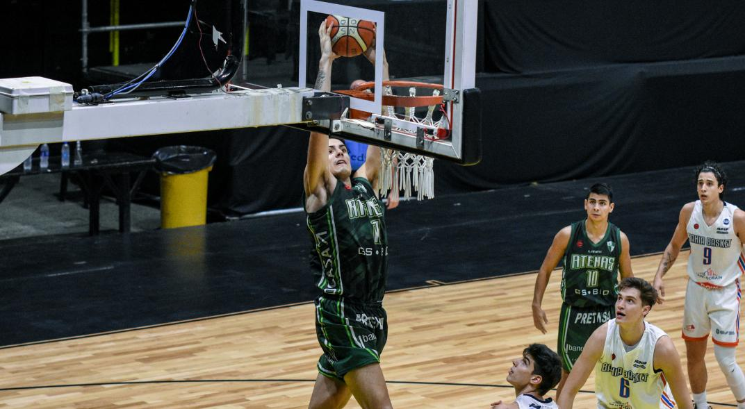 Athena is celebrating: he beat Bahia Basket at the start of the National League play-off series