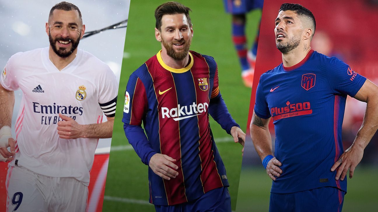 Barcelona, Atletico, Real Madrid and Seville are living in a conflict we haven't seen since 1973