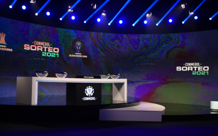 CONMEBOL Libertadores team level drawn