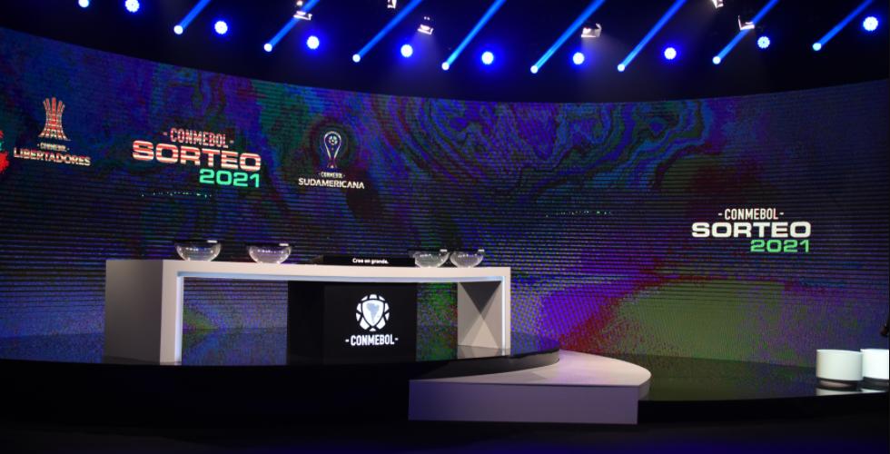 CONMEBOL Libertadores team level drawn
