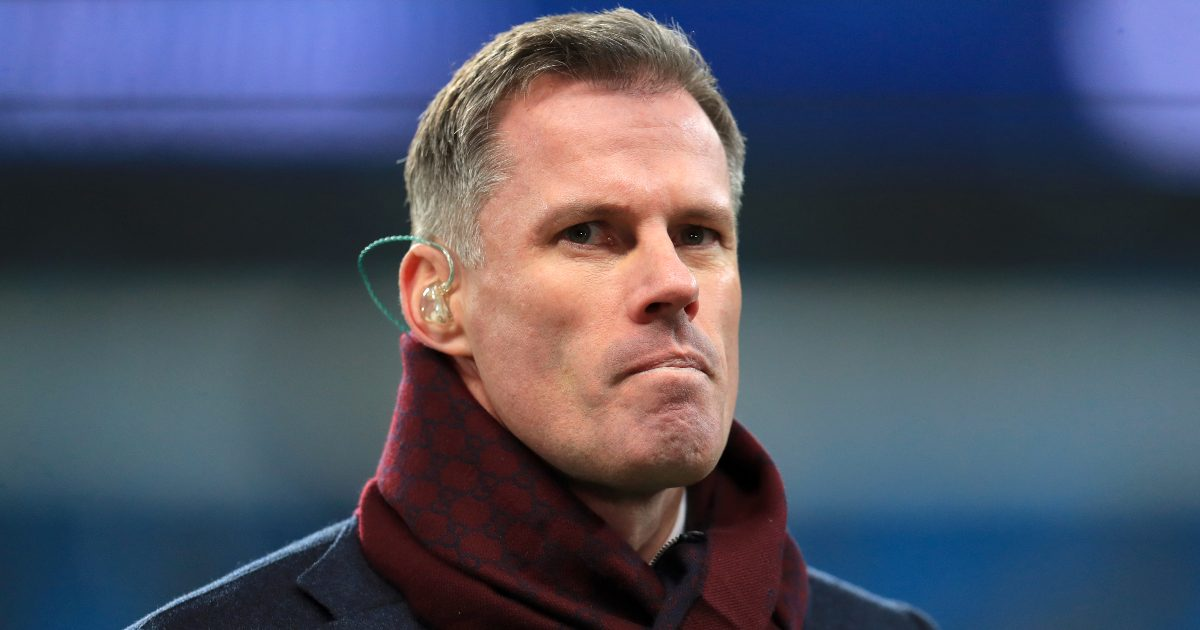 "Carragher is escalating over the unauthorized ""nonsense"" Bellingham goal"